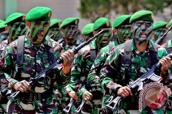 Lomba Peraturan Baris Berbaris (PBB) TNI AD