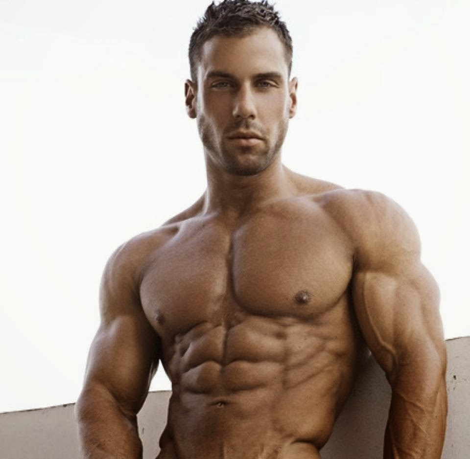 Aesthetic Muscle, Bodybuilder, Great Abs, Justin Woods, Male Fitness .