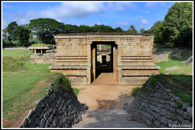 Underground Shiva temple