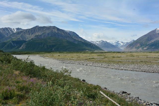 Alaska sunny river