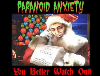 ground zero: paranoid anxiety & the quantum santa