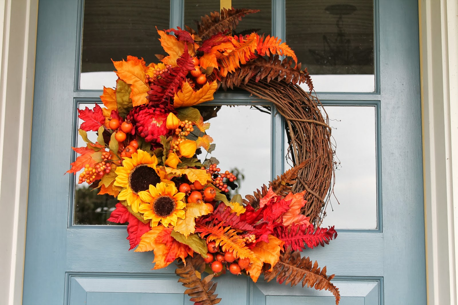 Elizabeth co fall wreath making frenzy Making wreaths