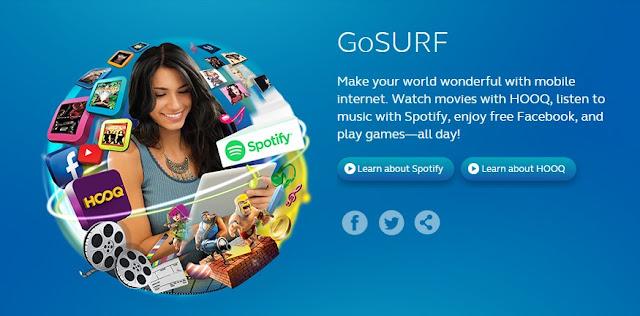 Globe Latest Mobile Internet / Unli Surf / Unli FB Promo for Prepaid Users
