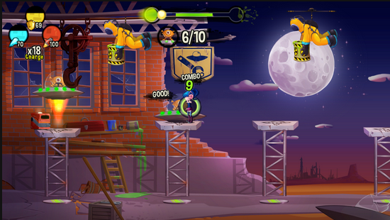 Gameplay BeatBlasters III
