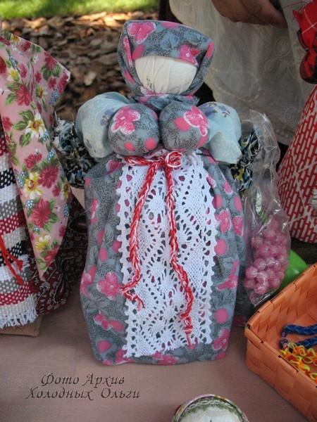 Тряпичные куклы 5
