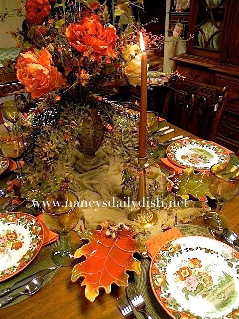 Nancy 39 S Daily Dish An Autumn Tablescape Royal Doulton