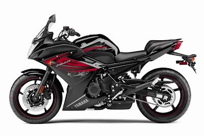 2012 Yamaha FZ6R New Black Color Photo