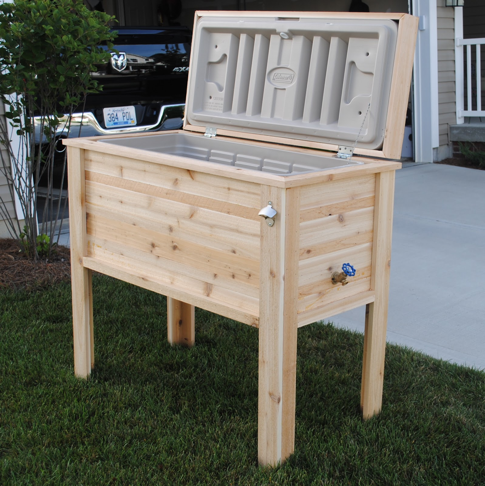 Ice Chest With Legs Home Ideas