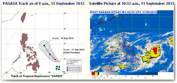 Bagyong Karen Update September 2012