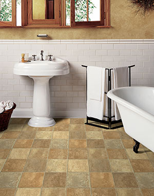 Modern home interior design modern sheet commercial bathroom and vinyl flooring for Sheet vinyl flooring bathroom