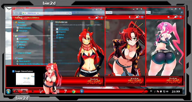 Gurren Lagann / Yoko Littner [ Theme Windows 7 ] 4