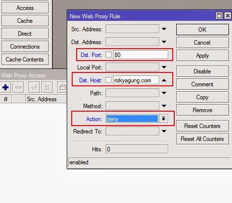 MikroTik Tutorials: How to Block Website Access using Web Proxy Mikrotik