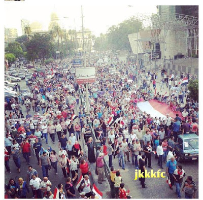gambar Terkini Di Mesir Demontrasi Besar-Besaran