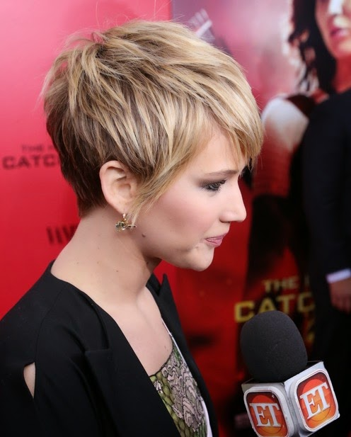 short hairstyles jennifer lawrence}