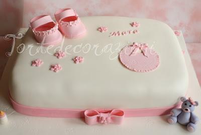 Torte e decorazioni torta battessimo bimba - Decorazioni per battesimo bimba ...
