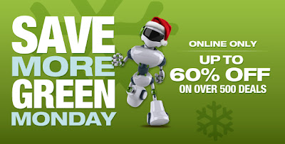 Sears Save More Green Monday
