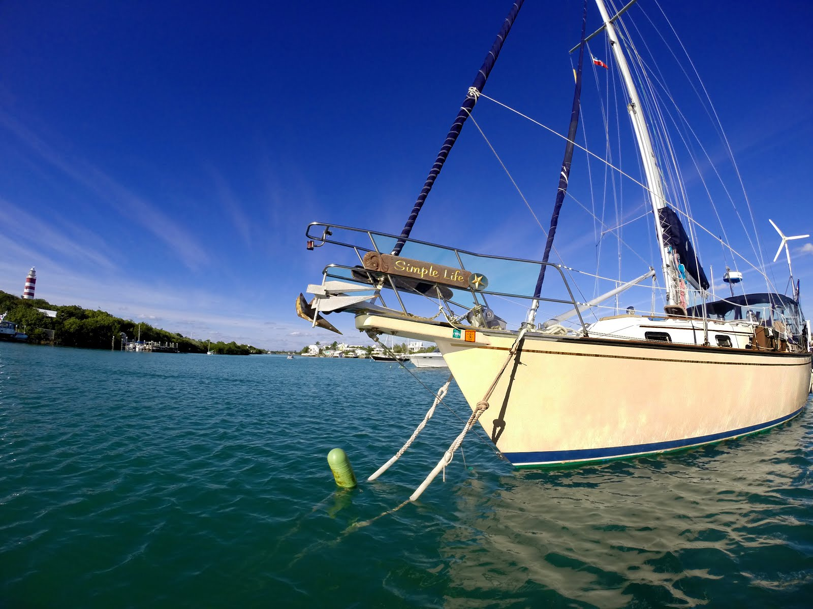 Sailing simple life on to hopetown for Simplistic lifestyle
