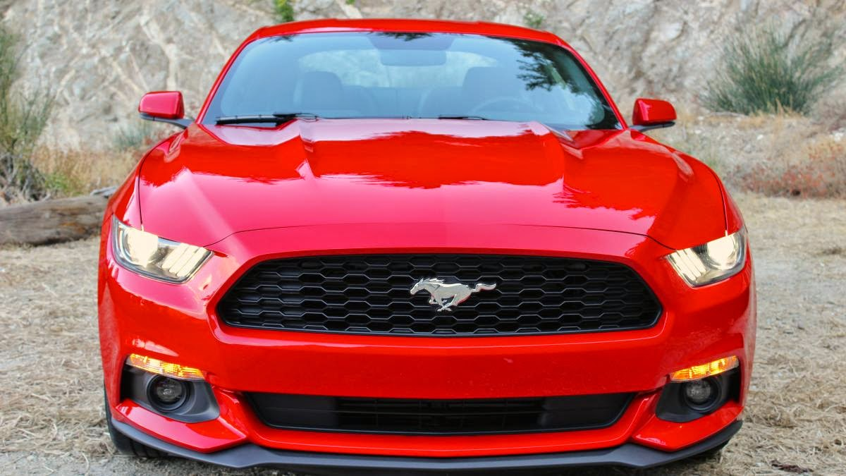 2015 Ford Mustang EcoBoost first drive