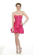 diferentes modelos y colores. vestidos cortos rosa