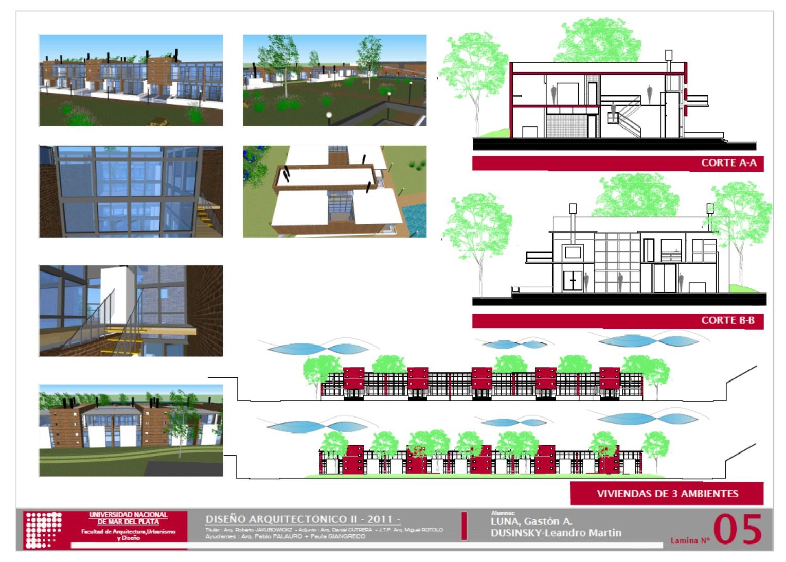 A e arquitectura y entorno conjunto de viviendas en - Paginas de viviendas ...