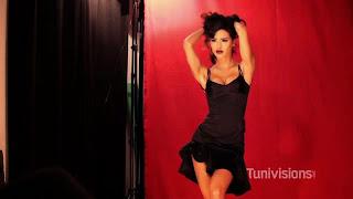 Leila Ben Khlifa en couv de Tunivisions Magazine Février 2014
