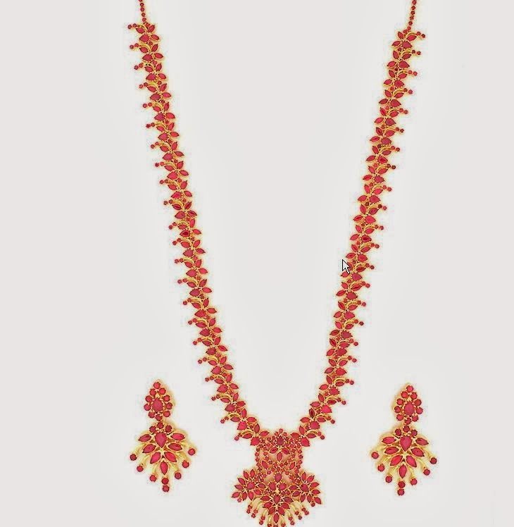 GRT Ruby Necklace Collections