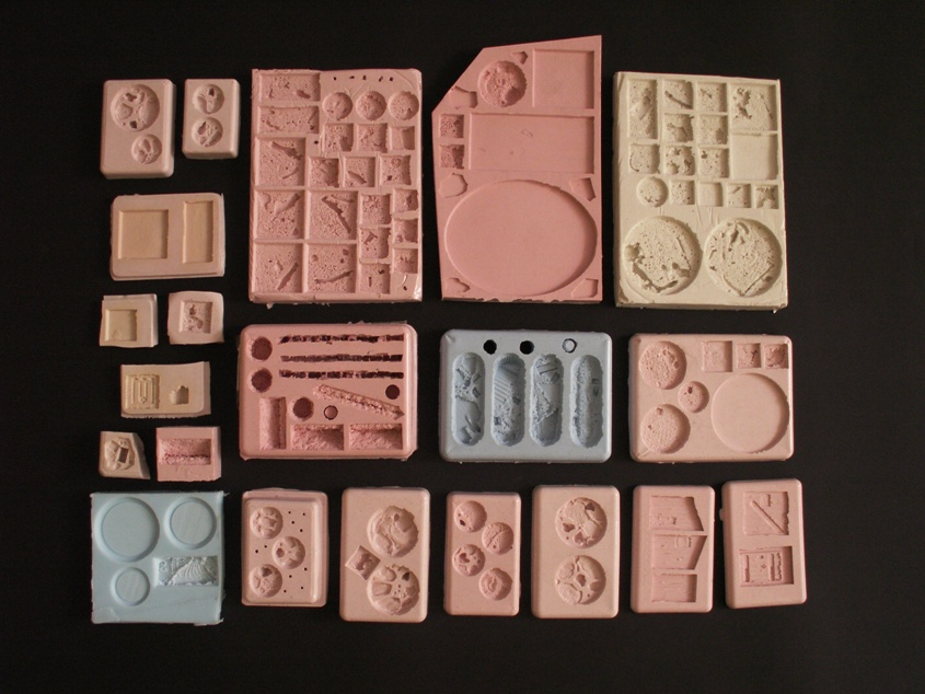 how to make miniature figure molds