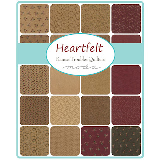 Moda HEARTFELT Fabric by Kansas Troubles Quilters for Moda Fabrics