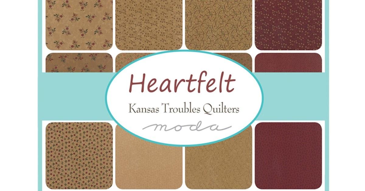 Crazy Quilt Girl Fabric Shop: Moda HEARTFELT Fabric