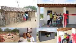Parcerias possibilita a construção de casas