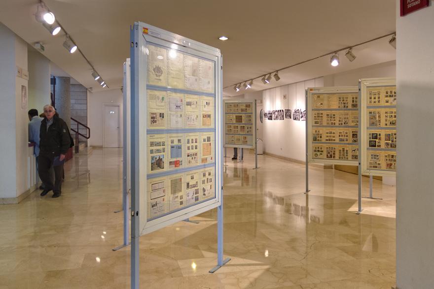 Exposición filatélica y fotográfica Avilés San Agustín de la Florida