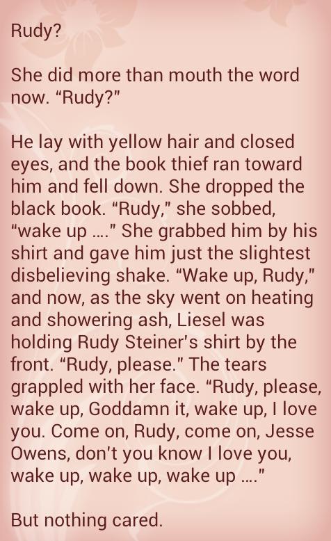 book thief literary essay
