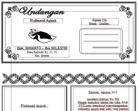Download Undangan Gratis | Undangan Pernikahan | Undangan Khitan ...