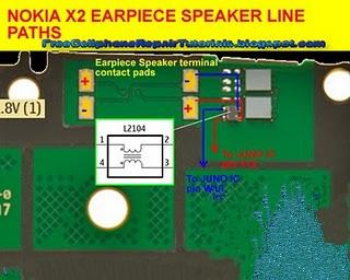 Nokia X2 00 Speaker Solution