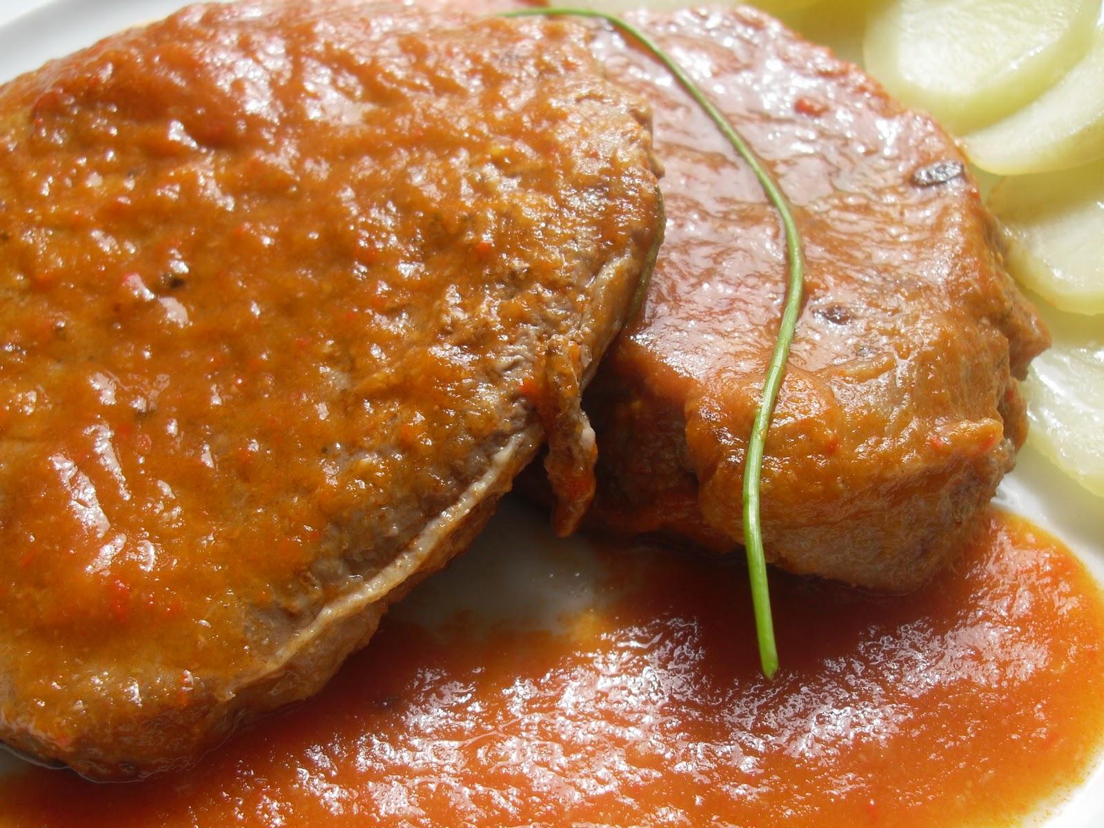 Filetes de ternera en salsa thermomix - Filetes de carne en salsa ...
