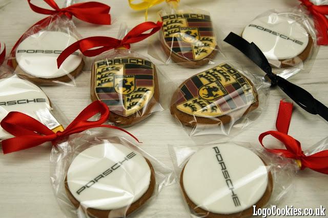 corporate logo cookies london