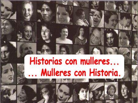 MULLERES NA HISTORIA