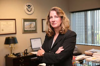 Homeland Security Agent in Charge Nancy L. Kratzer