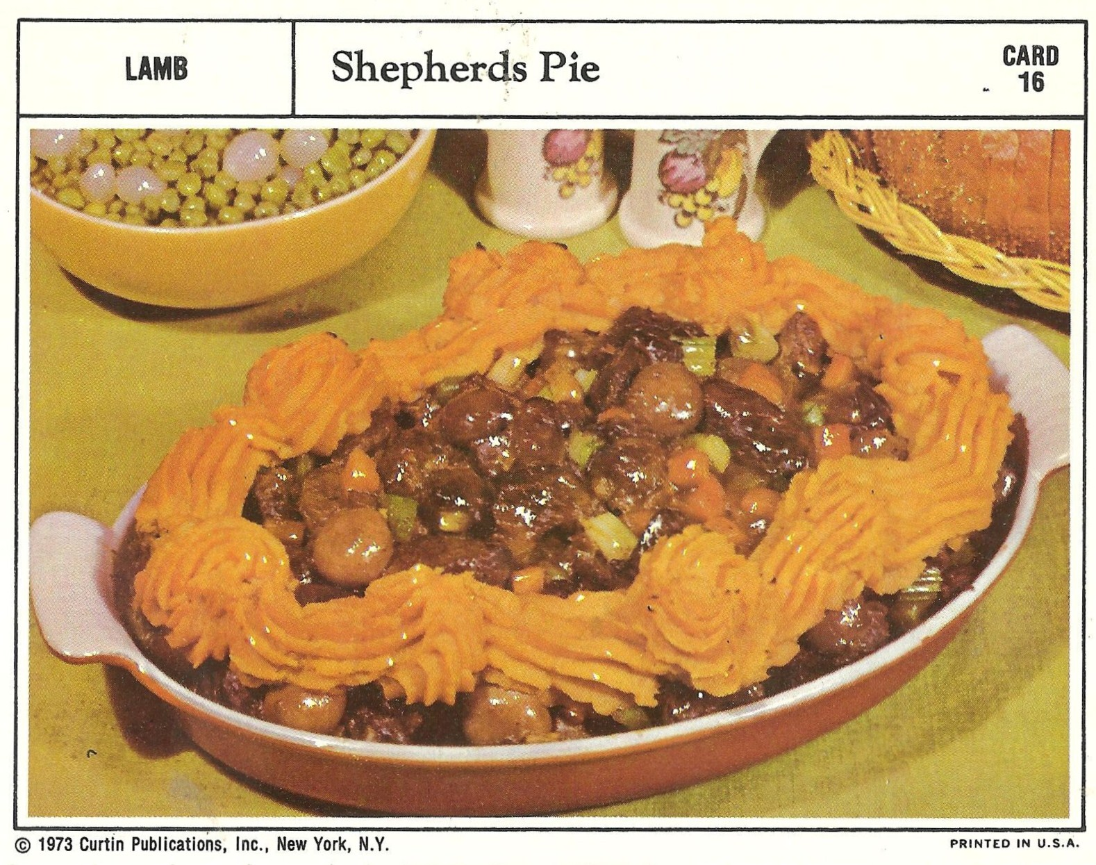 Bad and ugly of retro food the epitome of 1970s food recipe cards very clever instead of a mashed potato ring this has sweet potatoes i see what you did there curtin how 21st century of you forumfinder Gallery