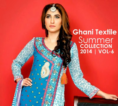 Ghani Textile Summer Collection 2014 Vol-6