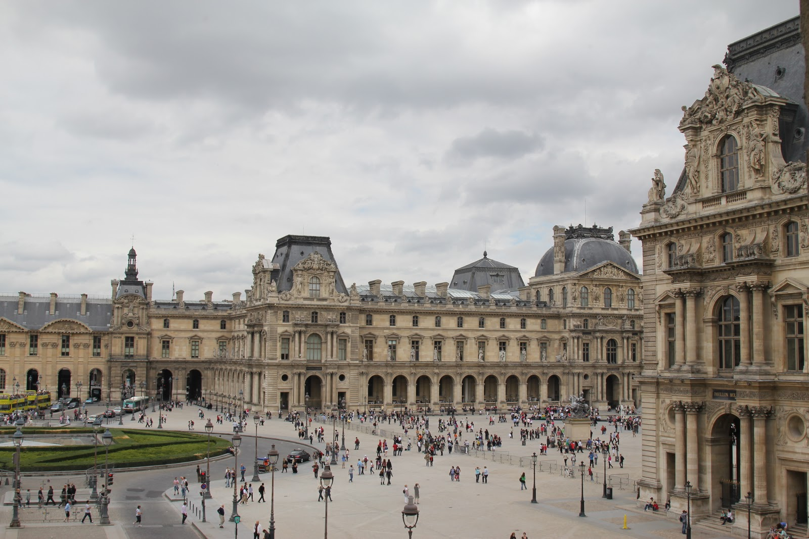 Visualistic visit to the louvre - Construction of the louvre ...