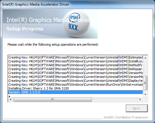 Manually Install an Intel Graphics Driver in Windows 7