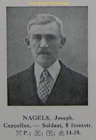 Oud-strijder en vuurkruiser Joseph Nagels 1884-1985 Guldenboek der Vuurkaart