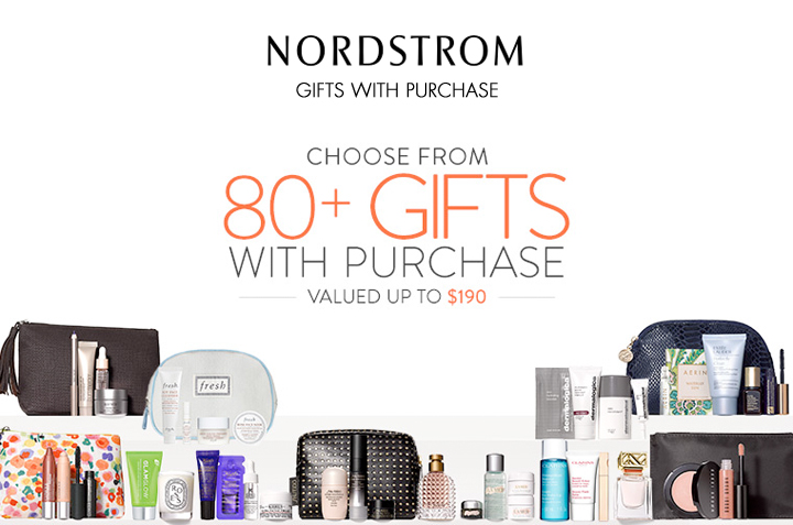 Nordstrom Triple Points March 18 - 22, 80+ Beauty Gifts With Purchase
