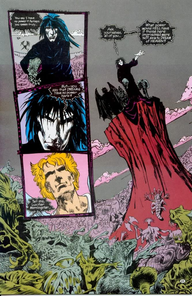 The Sandman: Morpheus y Lucifer