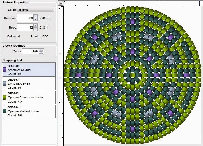 free round beading pattern