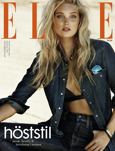 Model ,Basketball @ Elsa Hosk - Jimmy Backius for ELLE Sweden, October 2015