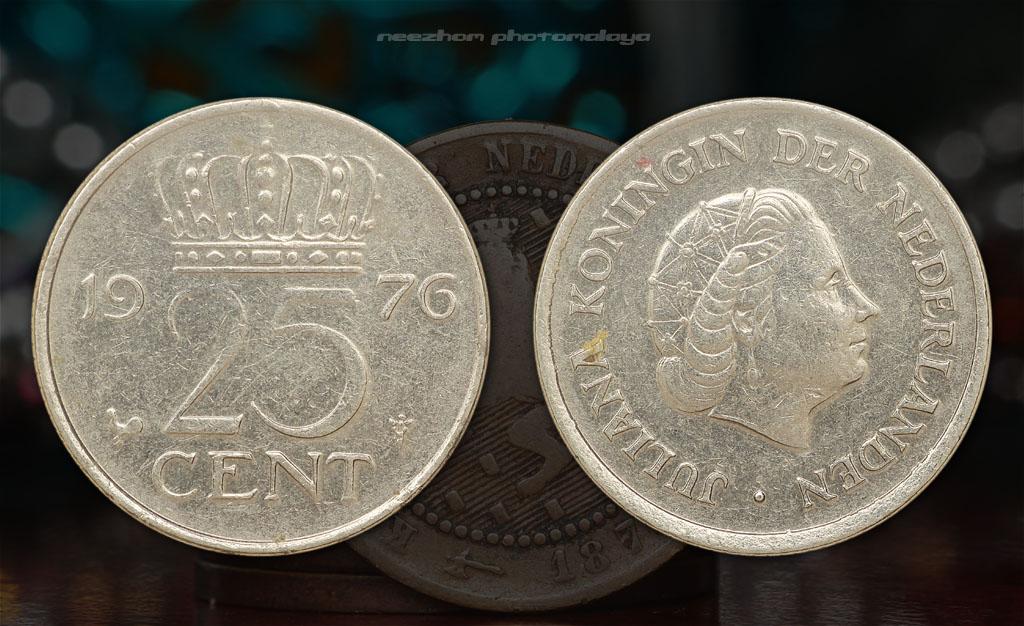 Koleksi duit syiling Belanda - Netherlands