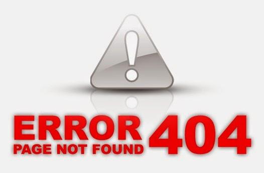 Error 404 page not Found, Tạo trang thông báo lỗi Error 404 cho Blogspot