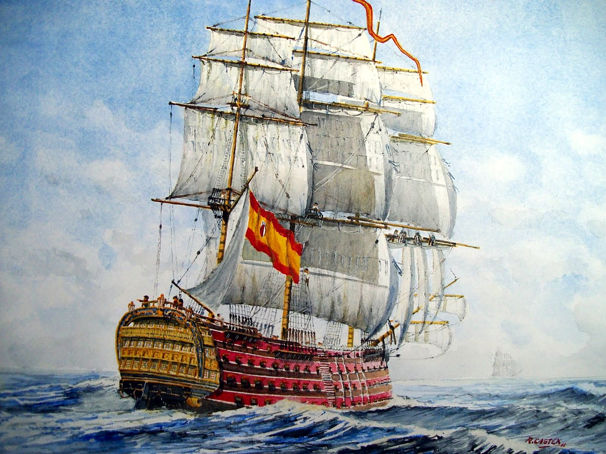 Ингерманланд 1715  российский парусный 64пушечный
